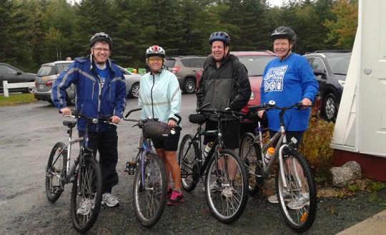 HATS Halifax Team at Ride for Refuge 2015