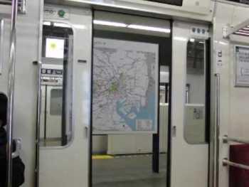 東京メトロ02系のドア閉動画