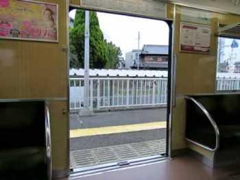 阪急2300系のドア開閉動画
