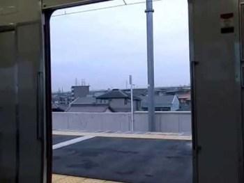 名鉄6000系のドア開閉動画(その2)
