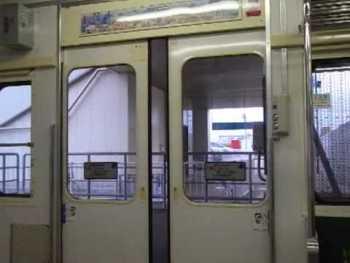 JR東日本103系のドア閉動画