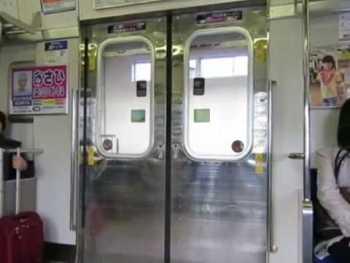 JR西日本103系(N40プロトタイプ)のドア開閉