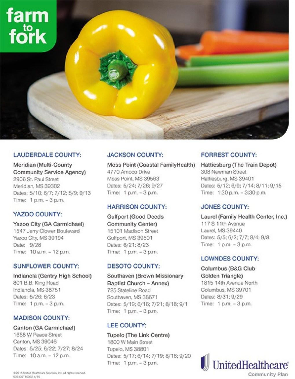 Farm to Fork Schedule Flyer-2