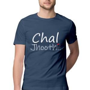 Chal Jhoothi - Navy Blue - HattsOff