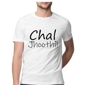 Chal Jhoothi - White - HattsOff
