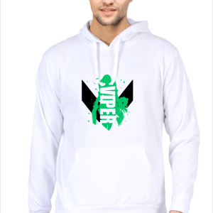 Viper - White - Hooded Sweatshirt - HattsOff
