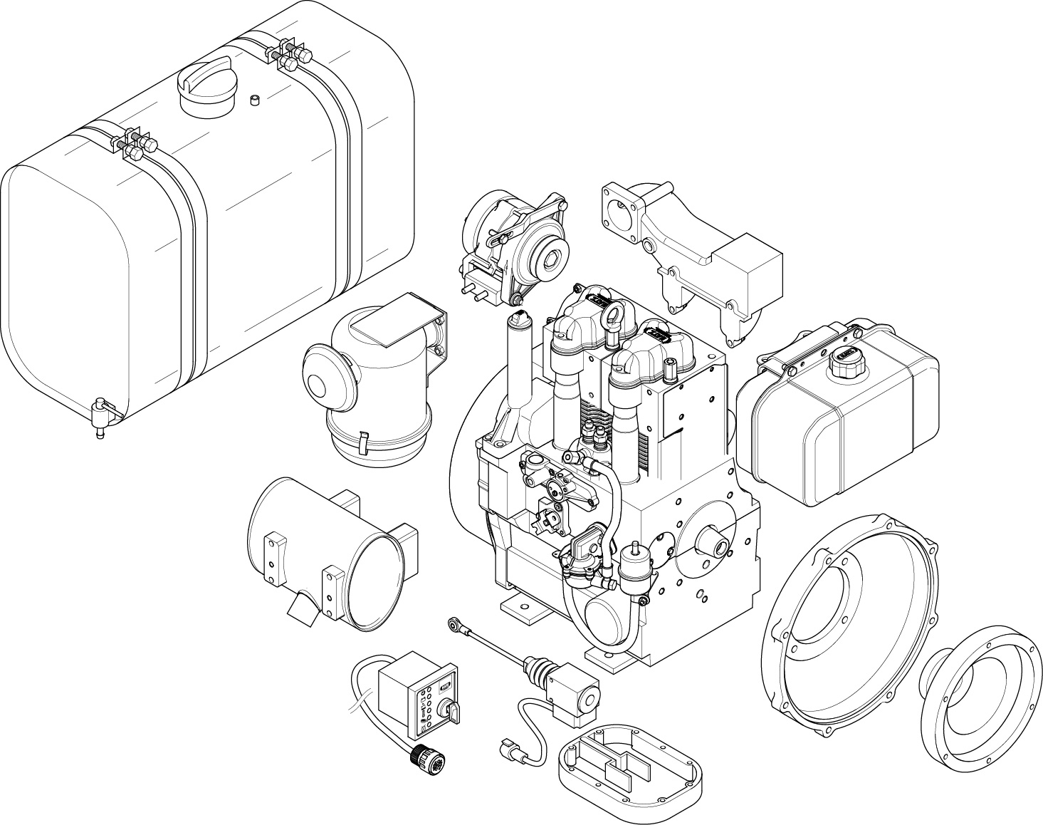 Fuel Filter Diagram 7 3