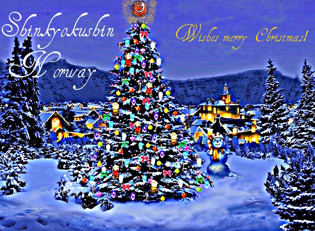 Merry Christmas In Norwegian.Shinkyokushin Norway Wishes Merry Christmas Thunderweb