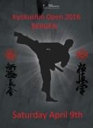 Plakat Kyokushin Open 2016