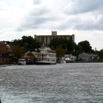 Historic Wilmington North Carolina overlooking Cape Fear River