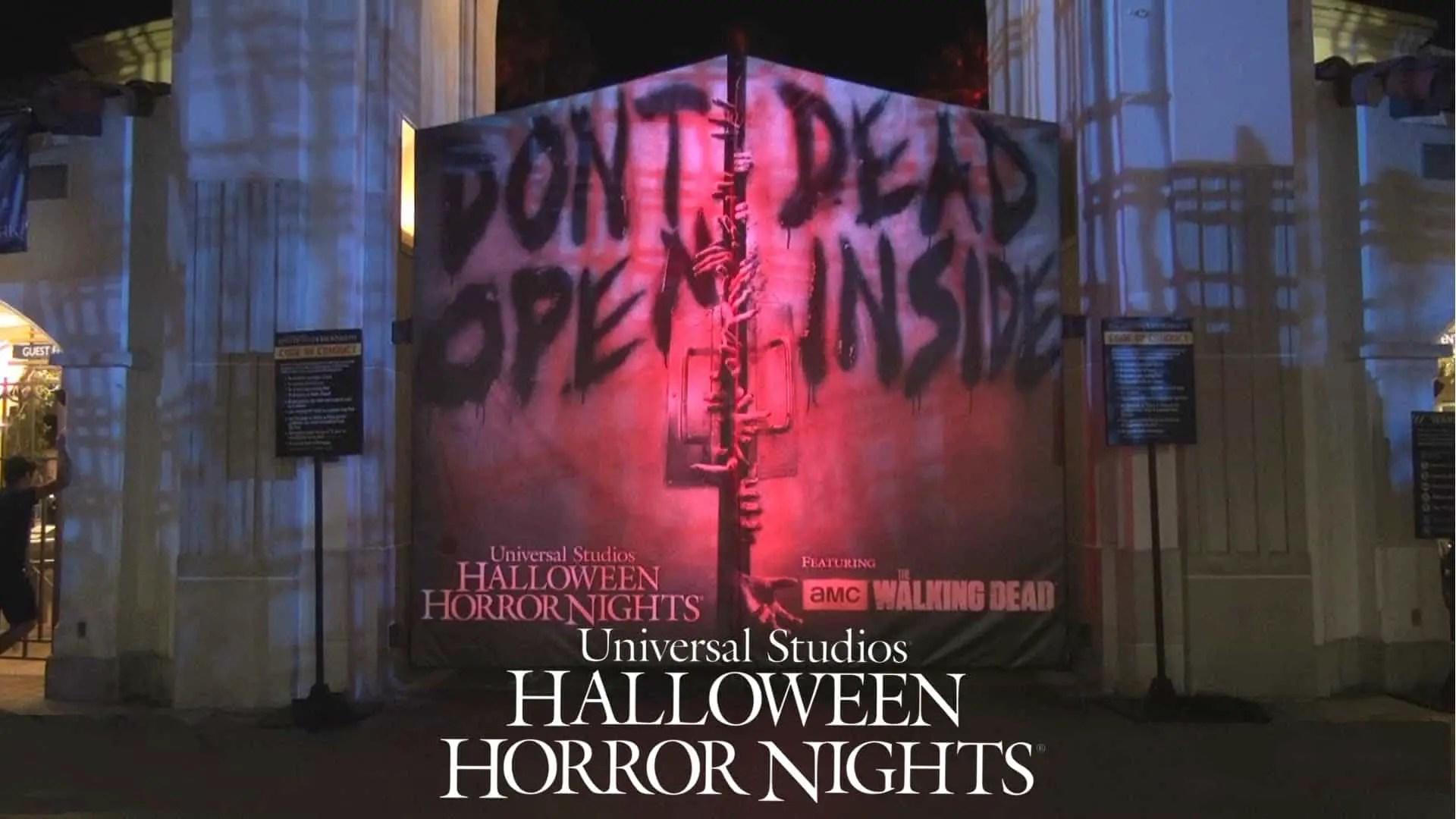 Universal Studio's Halloween Horror Nights - Haunting