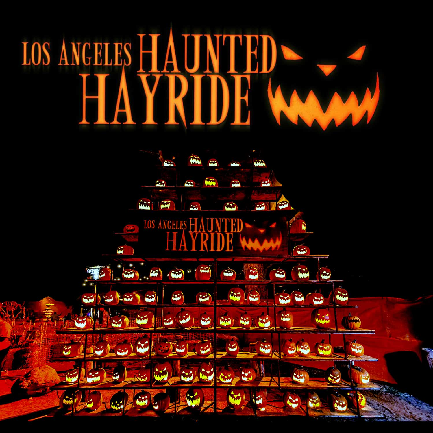 la haunted hayride - haunted attraction - haunting