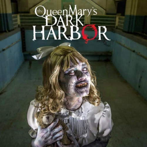 Queen Mary, Dark Harbor, Haunted House, Theme Park, Large Scale Attraction, Long Beach, Los Angeles, CA
