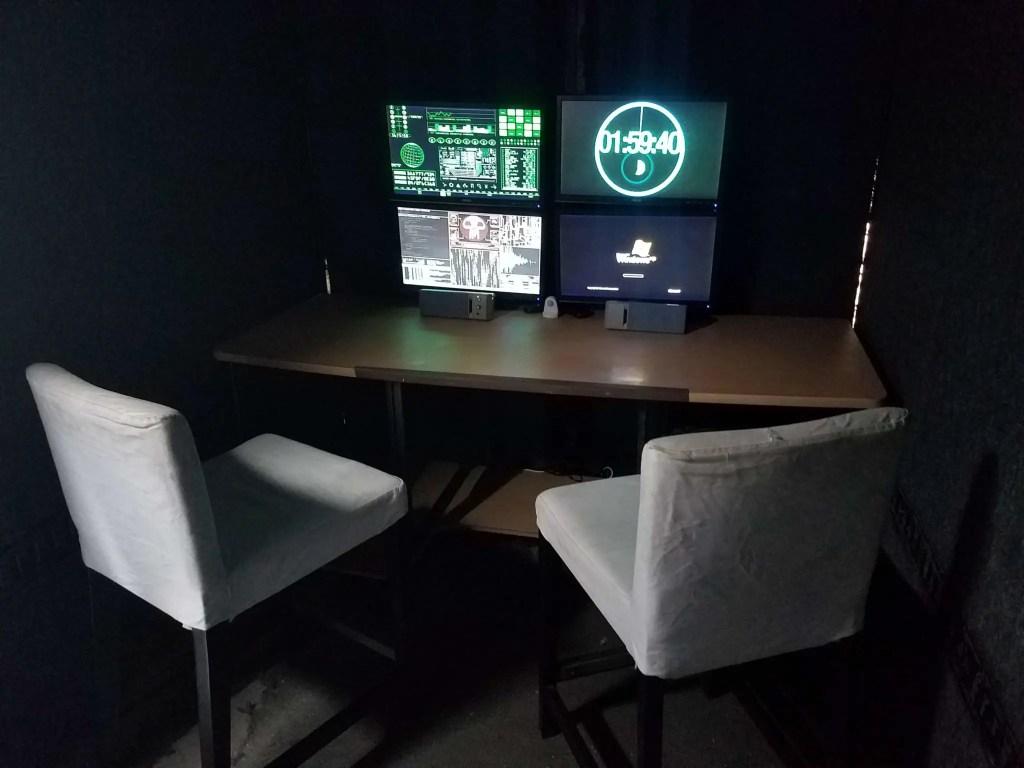 Black matter Foundation: A Real-world escape room