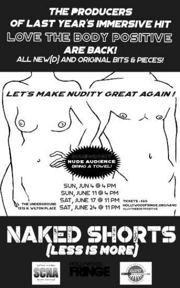 Naked Shorts - Hollywood Fringe Festival - Passion