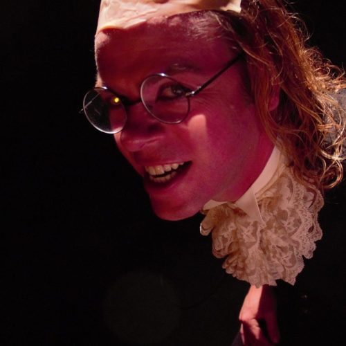 Benjamin Franklin zombie joes underground theatre theater los angeles theater absurdism surrealism comedy jason britt zombie joe brandon slezak david dickens