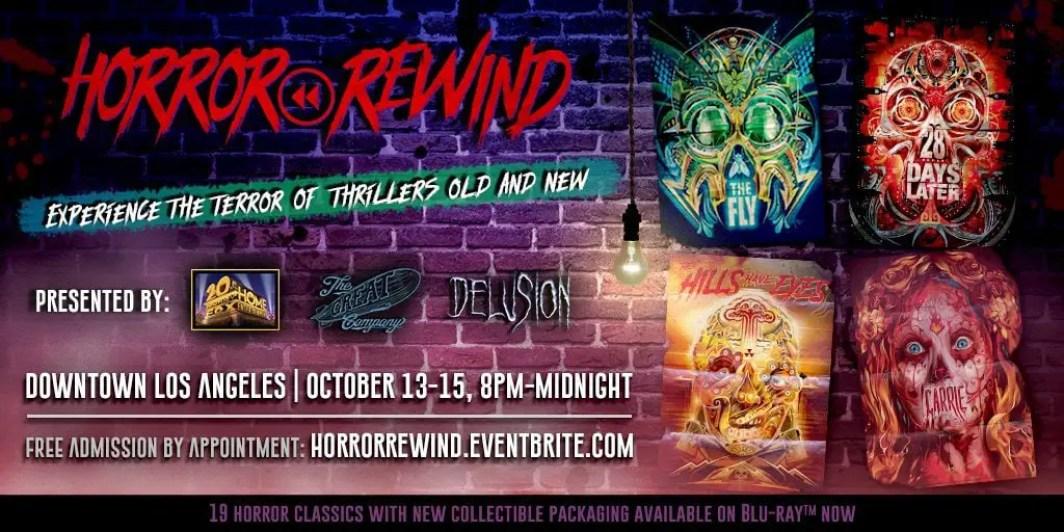 Horror Rewind - Halloween - The Great Company - Delusion - Orlando Arocena