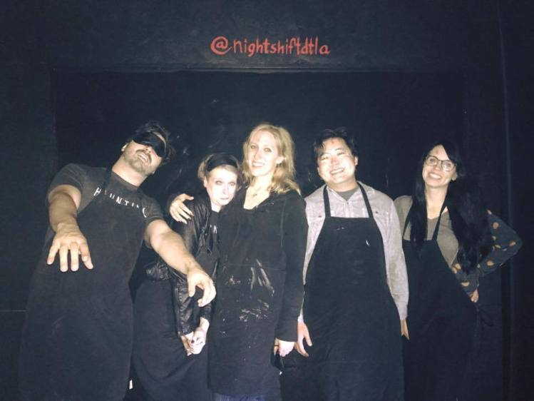 Night Shift DTLA Haunting Team