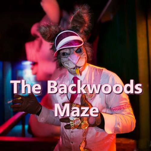 Backwoods Maze, Home Haunt, Haunted House, Burbank, CA