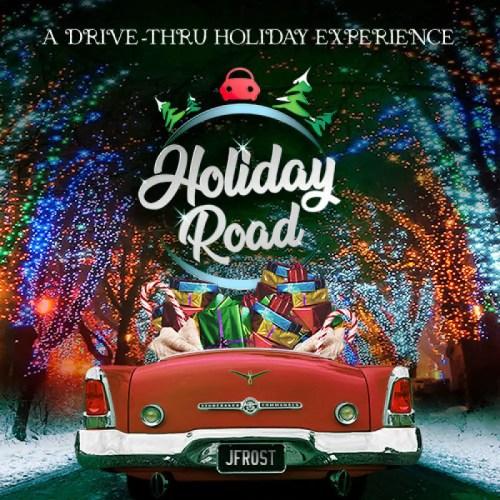 Holiday Road, A Drive-Thru Holiday Experience, Calabasas, CA, Installation, Holiday Guide 2020