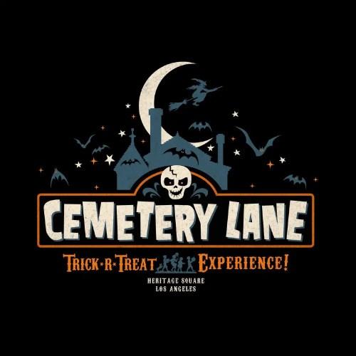 Black Cat Orange - Cemetery Lane - Heritage Square - Los Angeles - CA