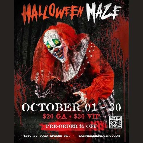 Halloween Maze Las Vegas - Haunted House - Las Vegas NV