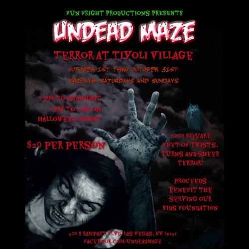 Fun Fright Productions - Terror at Tivoli Village - Haunted House - Las Vegas - NV