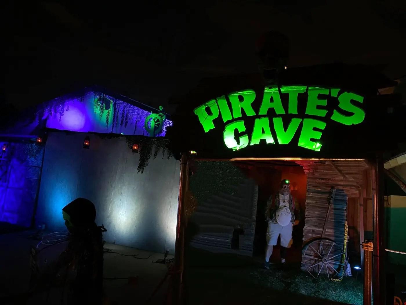 Pirate's Cave 2021 - Curse of Calico Jack - Home Haunt - Orange - CA - 16