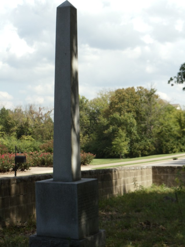 Monument to the Midway Plantation Slaves