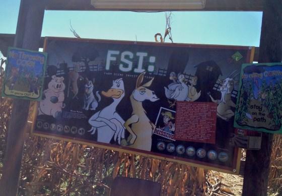 FSI Corn Maze Board