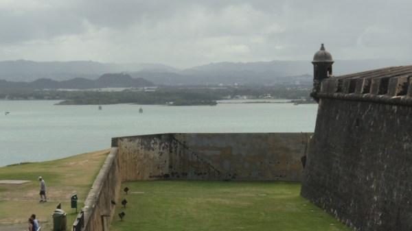 Guard tower at El Morro