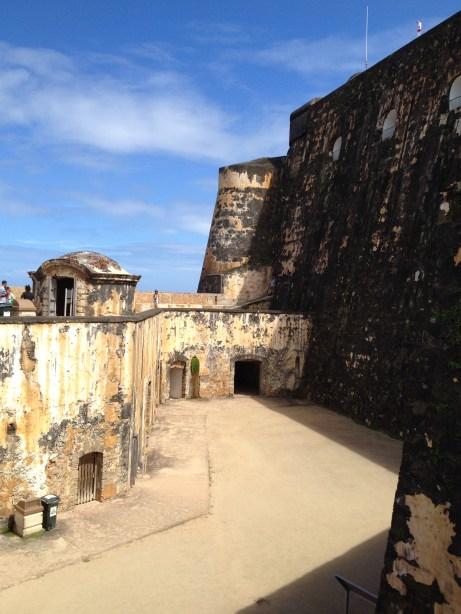 Casemates at El Morro