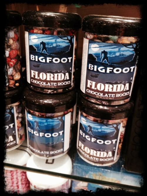 Get your rocks off with these chocolate-y Bigfoot beauties!