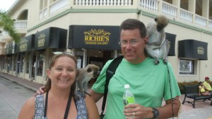 Monkeying around in St. Kitts