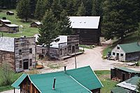 Garnet's surviving commercial buildings - Image from Wikipedia