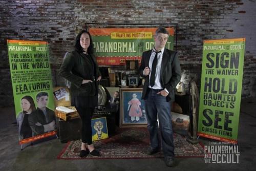 Museum Curator Dana Matthews and Museum Director Greg Newkirk