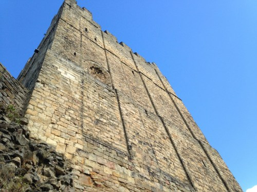 The garrison's mighty Norman fortress tower at Richmond, where the doomed drummer boy would have been stationed - Photo: Paul Fitz-George
