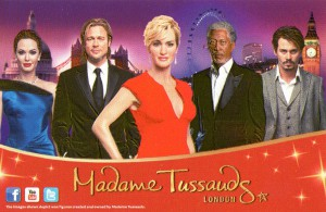 madam tussauds london