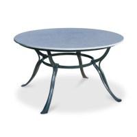 Gartentisch mit Steinplatte Hefaistos rund ...