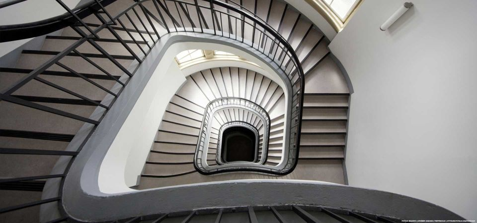 Top gereinigtes Treppenhaus in Hamburg
