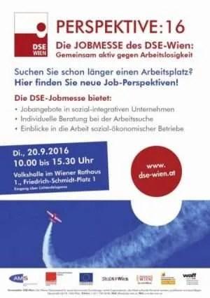 Plakat Jobmesse