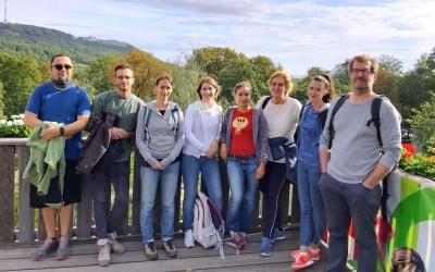 Herbstwandertag Team HAUS AKTIV!
