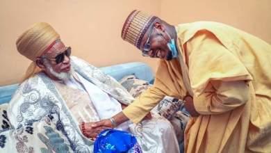 Photo of Sheikh Dahiru Usman Bauchi ya yabawa Minista Pantami Da Ya kai masa Ziyara (Hotuna)