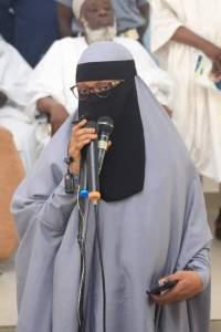 Bidiyo :Jama'a dayawa sunfashe da kuka yayin jawabin Yar Sheikh ja'afar    zainab Ja'afar Mahmoud Adam kano