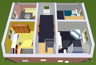 Hausplaner 3D Dachgeschoss