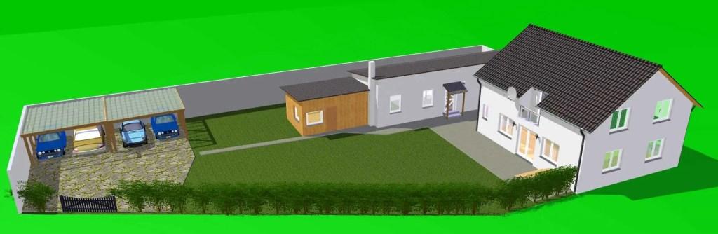 Hausbau Planung Grundstück