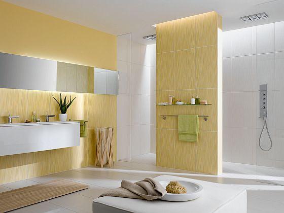 Auch dieses moderne Bad ist bereits altersgerecht entworfen worden. (Foto: Auch wenn man es nicht sieht: Dieses Bad wurde komplett barrierefrei gestaltet. Ein unterfahrbarer Waschtisch, eine bodenebene Dusche mit genug Platz. (Foto: spp-o/IV-Agrob Buchtal)