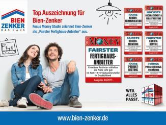 """Bien-Zenker erhält in allen Wertungskategorien die Noten """"gut"""" oder """"sehr gut"""" (Abbildung: Bien-Zenker GmbH)"""