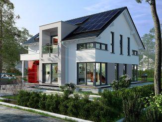 Das neue Musterhaus von OKAL Haus in Fellbach ist ein intelligentes Einfamilienhaus für die moderne Familie.