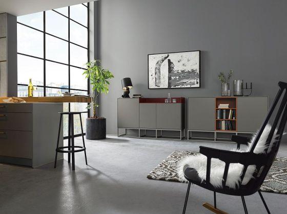 Küchenmöbel im Wohnbereich